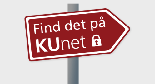 Find det på KUnet
